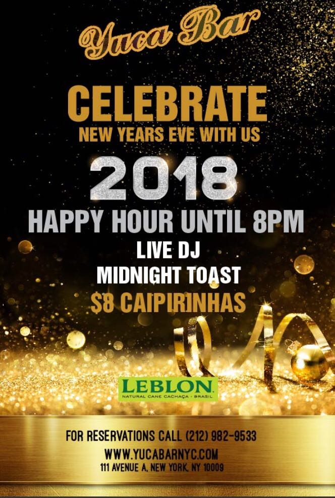 New year's Eve 2018 Latin Party